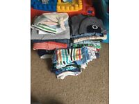 Baby boys bundle of clothes newborn/up to 1 month