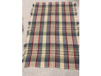 Two Highland Travel Rugs each 100cm x 135
