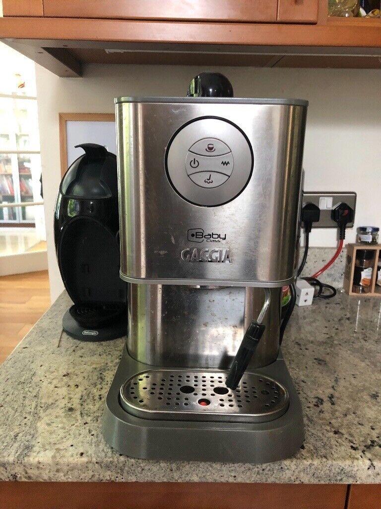 Sold Baby Gaggia Coffee Maker In Cobham Surrey Gumtree