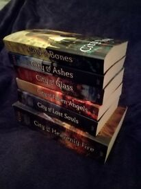 Mortal instruments books complete series