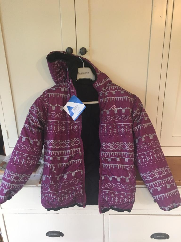 Girls Dare2b skiing jacket size (chest) 32 for a 13/14 year ild