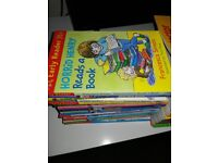 Full sets of Horrid Henry and Thomas The Tank Engine Books
