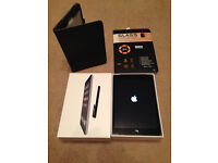 iPad Mini 16gb 3G/4G UNLOCKED with Case + Glass Screen Protector Cover - Excellent Condition - BOXED