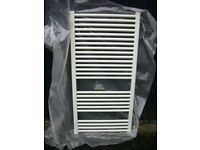 White Towel Radiator unused
