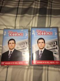 The Office US box sex (season 1-5 6-9) every episode