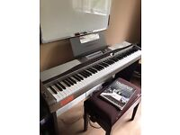 Casio Privia PX-400 Compact Digital Piano Full size weighted keys, FREE DELIVERY