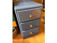 Cute painted pine drawers