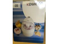 Kenwood IM200 1.1 Litre Ice Cream Maker ***GREAT FUN FOR THE KIDS***