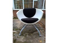 Funky IKEA 60s Style Revolving Oval Chair
