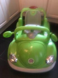 Battery operated child's car