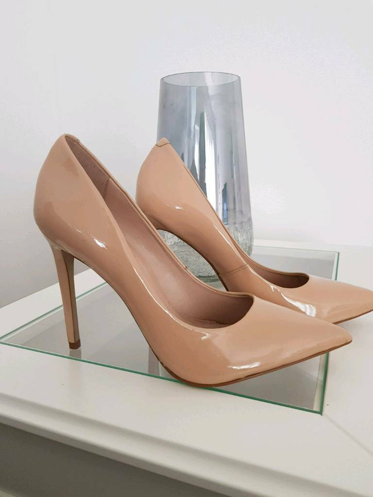 River island nude heels size 6 | in Gedling, Nottinghamshire | Gumtree