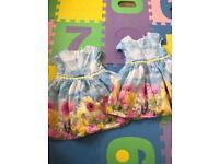 Twins girls dress