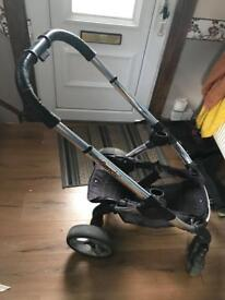 Icandy double and single push chair