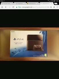 Playstation 4 , one tb fully boxed black