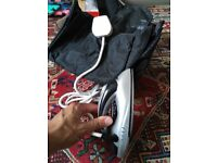 Travel iron and bag