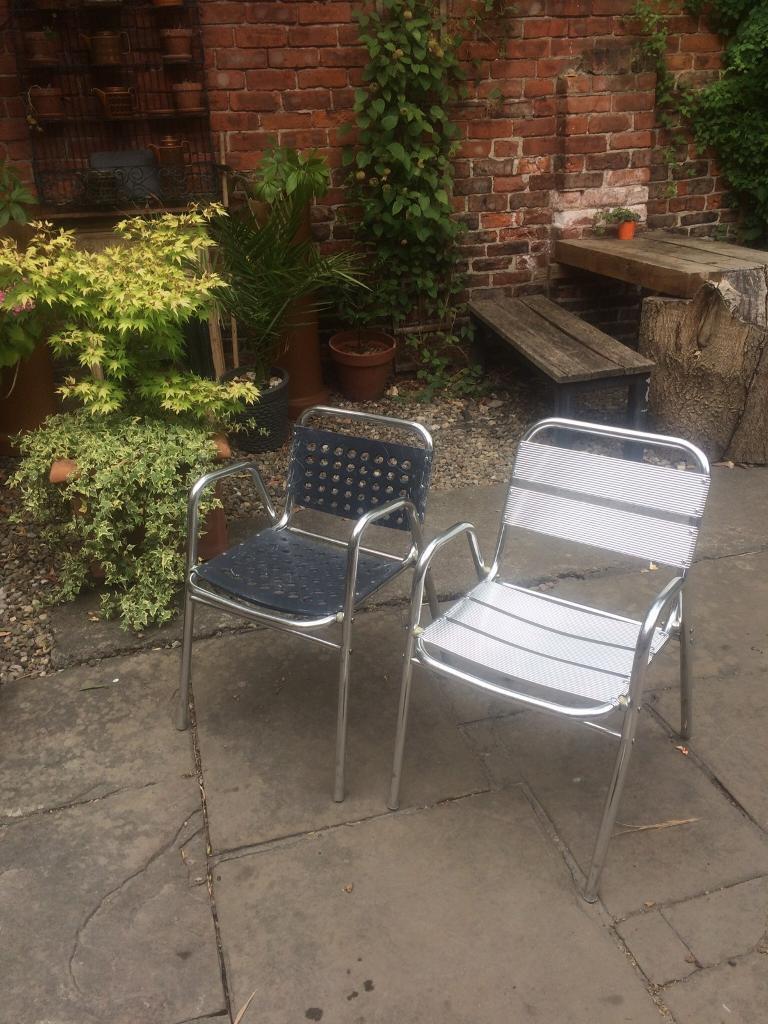 Stacking garden chairs york