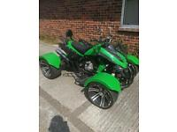 Speedstar 300 CVT auto quad bike