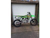 Kawasaki kx450f 2016 kx,crf,rm,ybr