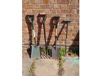 2 Shovel and Spear set