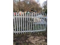 2.9 x 1.8 galvanised Security Palisade Driveway Gates, can deliver