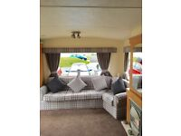 2 bedroom caravan hire at Whitley bay