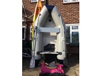 260 inflatable dinghy, boat