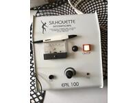 Silhouette international Epil 100 electrolysis machine
