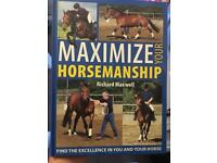 Various Horse books on exercise, health & training.