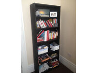 2 Bookshelves available - 1 Large Brown and 1 Smaller White