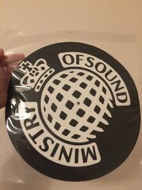 Ministry of Sounds Slipmat Vinyl Player - new.