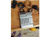 Europack Mixer MX820A & Cables