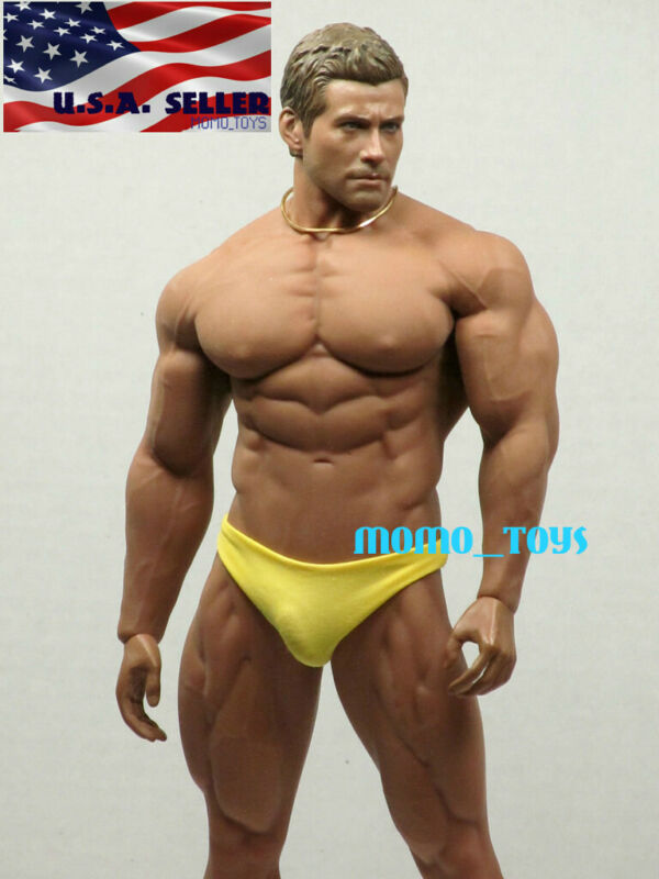 1//6 TBLeague PHICEN M34 Male Figure Seamless SUPER Muscular Body ❶USA IN STOCK❶