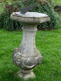 Garden feature sundial in the style of 'Adams'