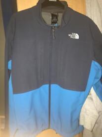 North Face blue coat