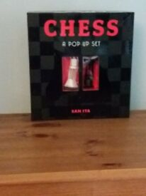 Chess Set. Unusual design. Great Xmas gift.