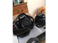 Nikon D3000 DSLR Camera 18-55mm VR Kit