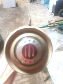 Hillman Minx mk7 horn push and indicator 1954 complete with wiring and column tube