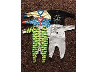 Next sleepsuit bundle 0-3 months