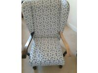 Vintage oak armchair