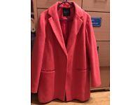 Pink New Look Winter Coat