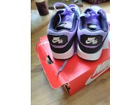 Pair trainers for sale nike air size 5 girls 70 pound o.n.o pick up only phone 07493649860