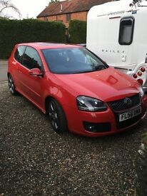 VW Golf GTi 2.0TFSI 2006(56) Tornado Red FSH MK5 Heated Seats Full Leather