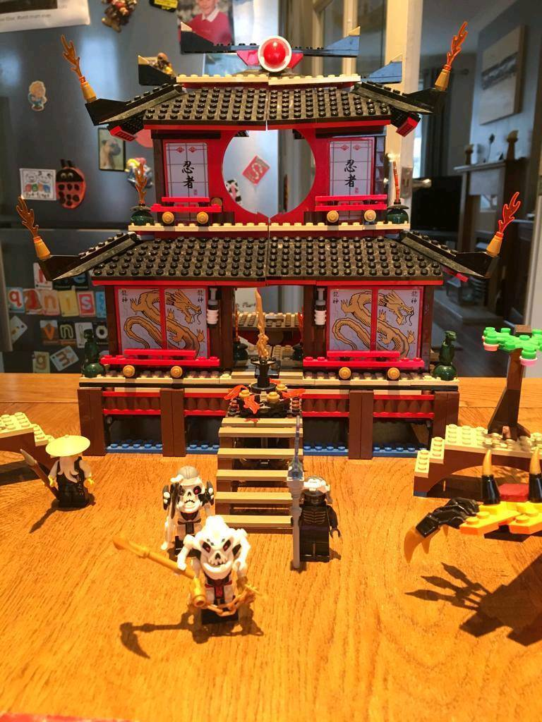 Wooden Toy Cars >> Lego Ninjago Fire Temple and Dragon 2507 | in Bishopbriggs ...