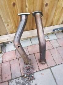 Nissan 350z de cat pipes
