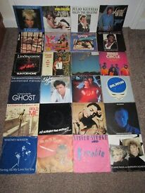 "Lot of 242 Vinyl Record Collection 7"" Singles Jam Uriah Boomtown Quo Sparks Oldfield Pop Rock Soul"