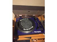 Barely used-Numark tt1700 belt drive turntables (in box)