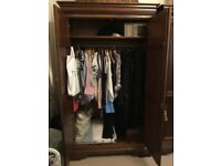 Lovely traditional wardrobes for sale x 2