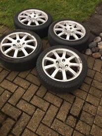 Peugeot 206 Gti alloy wheels