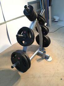 Brand New Jordon Weights Set with Weight Tree