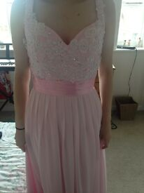 Brand new, beautiful pink dress ideal for prom/ball